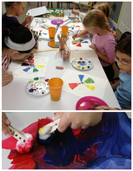μαθηματα ζωγραφικής για παιδιά